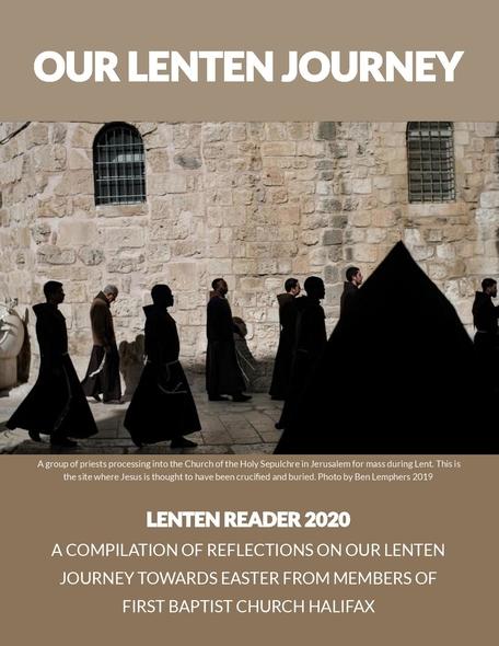 Congregational Lenten Devotional Book