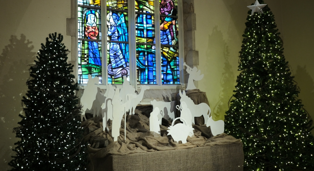 Children's Nativity Tableau